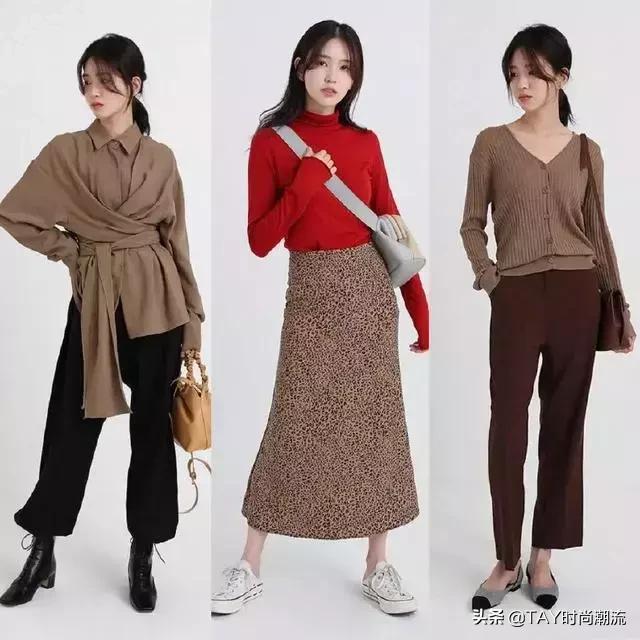 服装搭配:随性慵懒的27套秋季穿搭示范,时尚就是要有腔调不知名