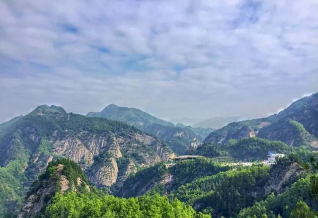 宝鸡九龙山景区图片