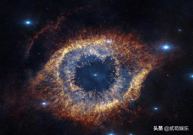 螺旋星云,NGC 7293星云宛如:上帝之眼