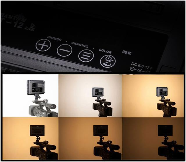 新闻采访婚礼摄像必备,图立方LED补光灯机顶拍摄补光