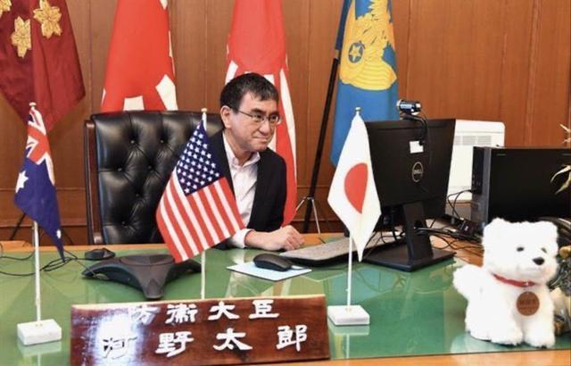 美日澳三国防长开会,却大谈中国东海、南海和香港