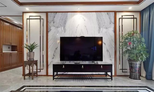 新中式风格的大理石背景墙,适合中国人的住宅|行业动态|瑞达石材