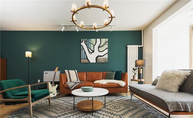 沙发装饰画背景墙壁画