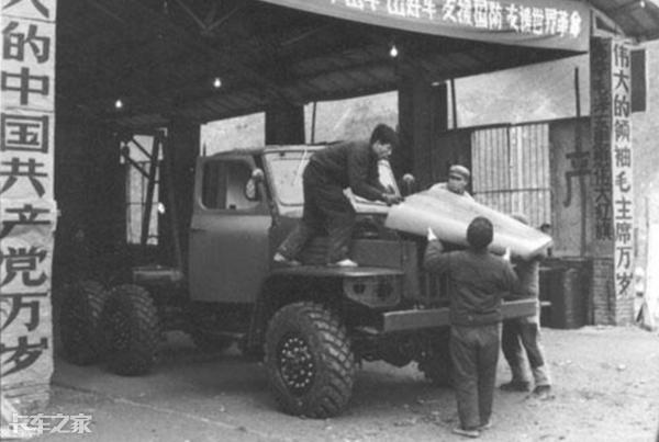 中国进口德国军用卡车