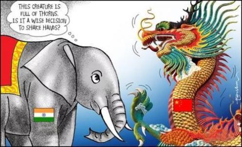 """印度纠集""""四国集团""""军演,还企图打""""台湾牌"""",对华赌博再升级"""