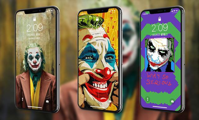 小丑手机壁纸全屏高清