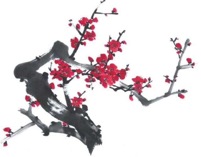 各种花的简易粉笔画法
