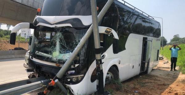 11名中国游客在泰国遇车祸受伤 5人重伤
