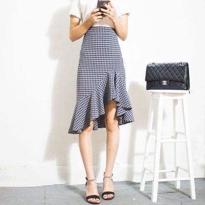 女生夏天一定要穿短裙吗?试试半身长裙,飘逸时尚还有型