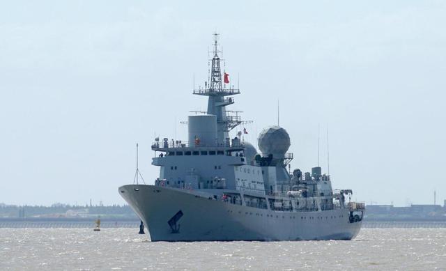 海军侦察船图片