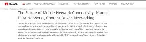 华为思科宣布全力布局,美国NSF巨资支持的NDN到底什么来头?