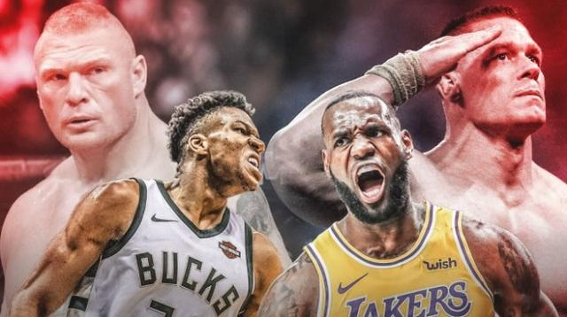 NBA中誰會是出色摔角手?美媒提名五大球星!字母哥詹姆斯都上榜!