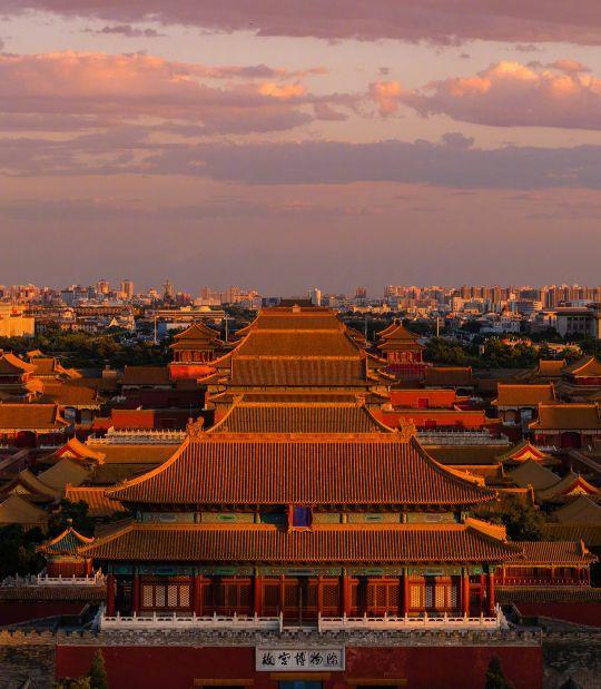 北京故宫简笔画