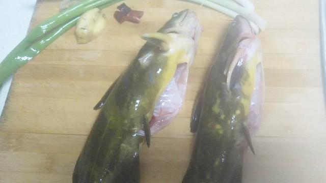地道农家菜木火铁锅熬鱼,秘制酱料是关键