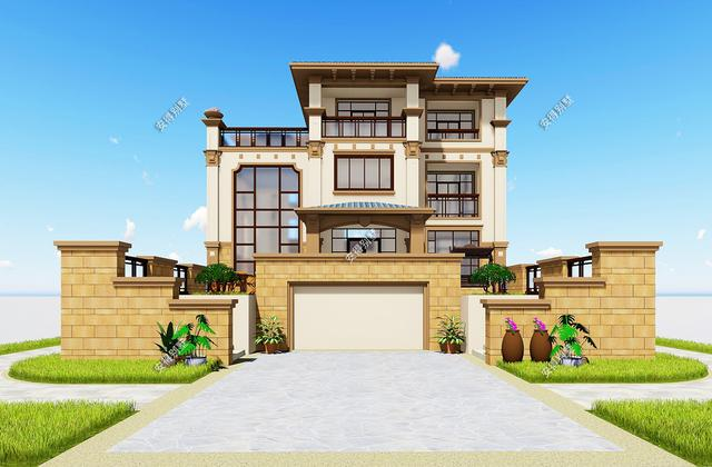 精选出50套原创别墅设计图纸,建房就要建和别人不一样的!