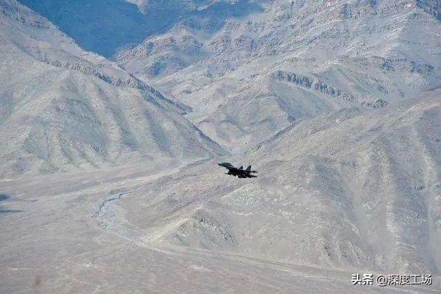 印度90架先进战机增援边境,部署11个机场:号称可8分钟发动攻击