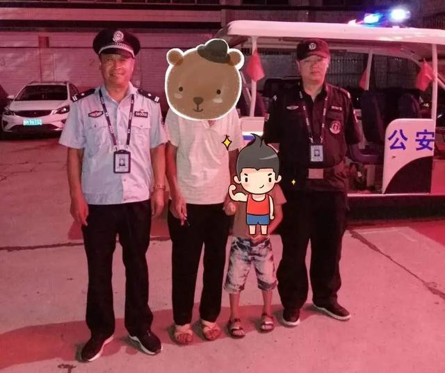 「暖心警事」熊孩子走失,民警深夜助其回家