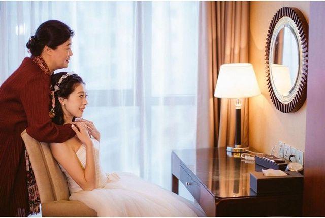 婚庆妈妈装旗袍连衣裙