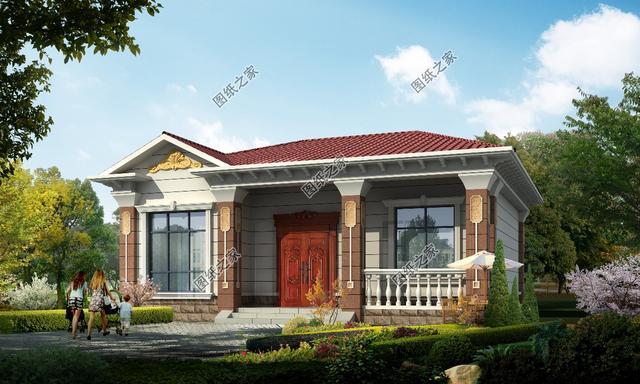 4米宽的宅基地设计图