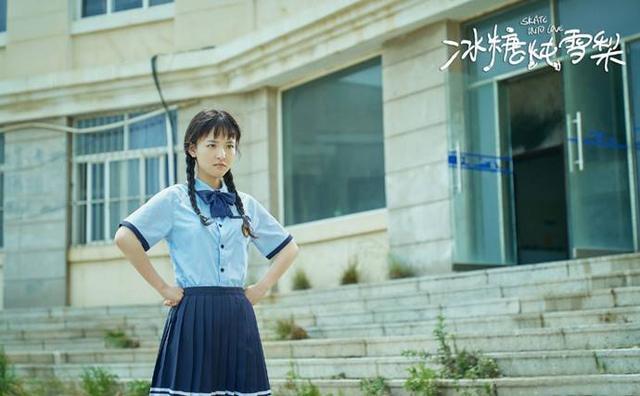 吴倩减龄刘海又上热搜,齐刘海加校服回到19岁的自己,减龄又活力