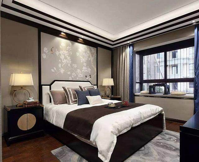 时尚优雅的床头背景墙设计,叫人大爱!