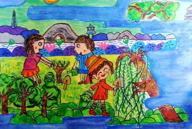 春天来了,以自然为笔,画一幅绝美画作_宝贝计画绘... _新浪博客