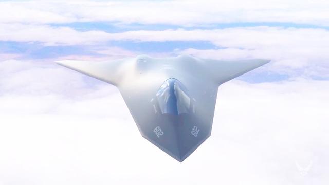 美国第六代高超声速隐形战斗机,隐形无人机和群体无人机概念亮相