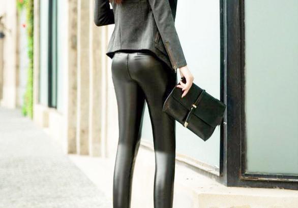 为什么女性穿上紧身的皮衣与皮裤会显得性感和充满诱惑