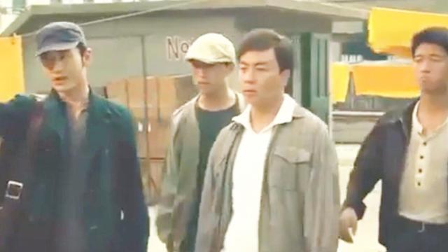 释小龙带着三个人来砸场子,被甄子丹三招打趴下