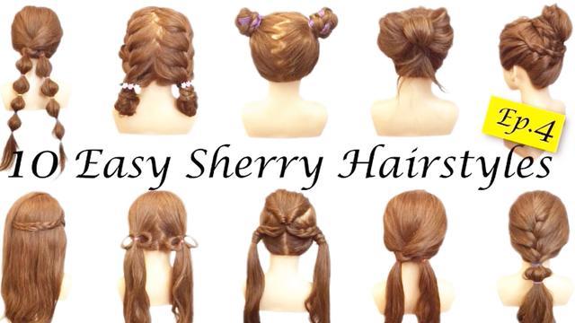10种简单快速儿童俏皮可爱发型编发