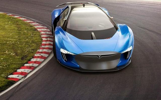 特斯拉首款超跑亮相 提速接近法拉利售价或卖50万