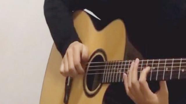 吉他d和弦指法圖