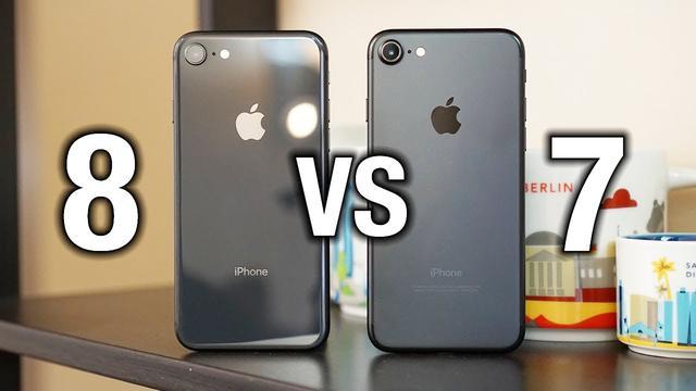 为什么iPhone7这么受欢迎?拿它和iPhone8对比下你就知道了!