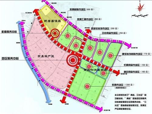 四川成都家具产业园区规划案例