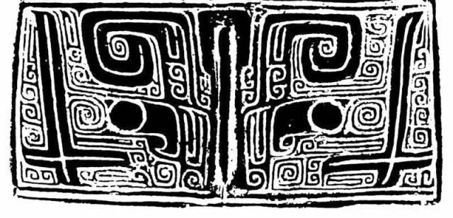 黑白四方连续纹样几何
