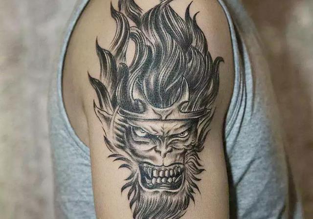 武汉老兵纹身店纹身疤痕遮盖纹身图案作品