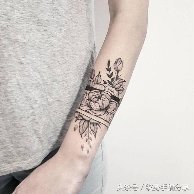 臂环纹身图案