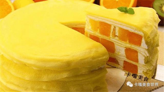 它是蛋糕中的極品,能延緩衰老,百吃不膩,巧媳婦教你自制千層蛋糕