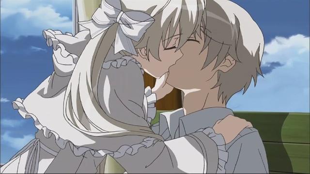 动漫中都舌吻,色气与感动并存,动漫中那些经典的吻