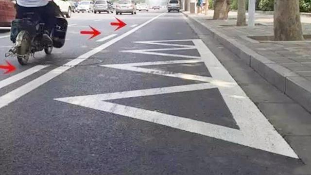 道路交通标线动态图解,让你一分钟学会,再也不用担心违规了