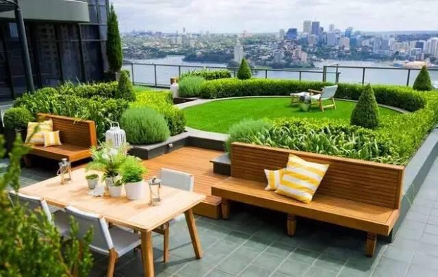 12个漂亮的屋顶花园,让你从此爱上顶楼的房子!