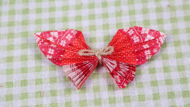 简单的手工折纸 简单蝴蝶折纸步骤图解_搜狗指南