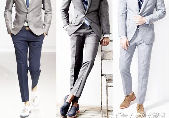 """男生夏天要如何将""""死板板""""的西装裤穿出时髦感?"""