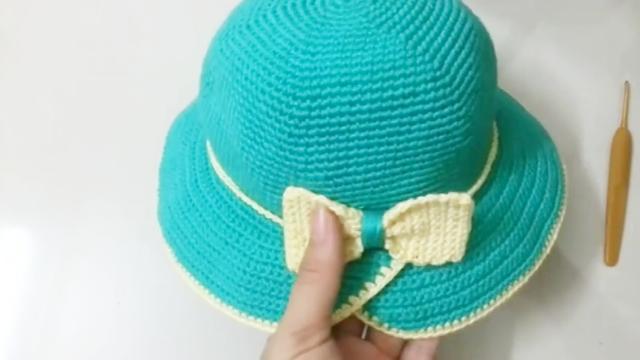 钩针女士帽子花样图解