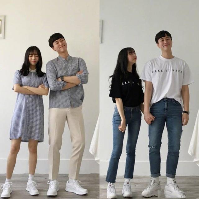 男女朋友情侣装套装夏装2020_爱靓网