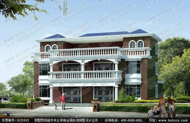 农村漂亮的二层半双拼别墅,32万左右就可以建好?对的,没有错