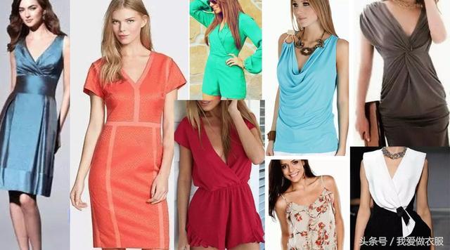 29张女士夏装裁剪图,看完保证你有做衣服的冲动!