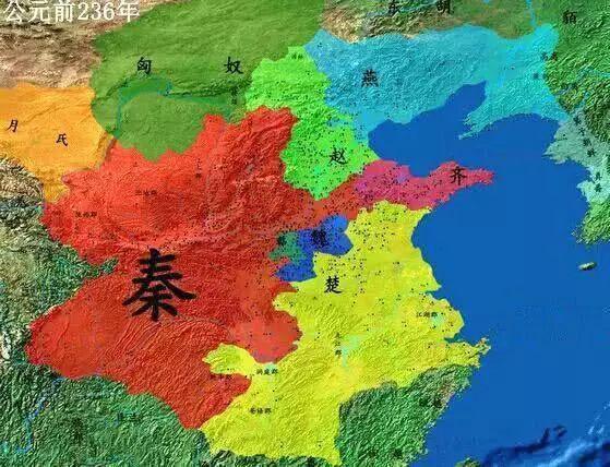 亲统一中国的思维导图