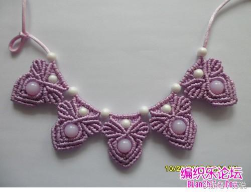 项链绳怎么编简单
