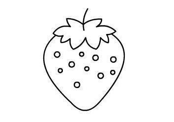 简笔画大全水果简单
